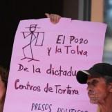 El Comité pide Libertad de los Presos Políticos de Honduras.