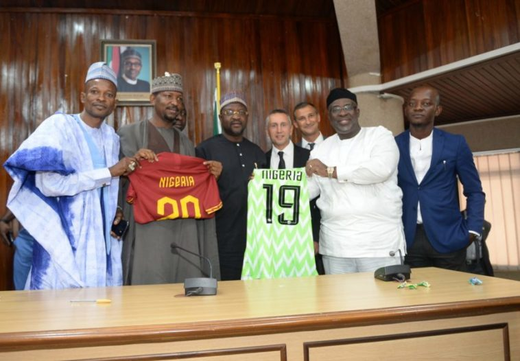 Roma Partnership Deal With NFF