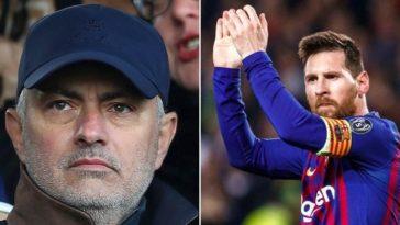 Messi and Mourinho