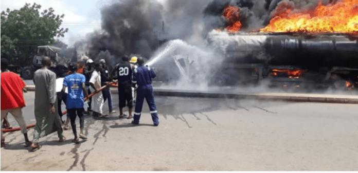 tanker fire in Zamfara State