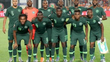 Super eagles. International friendly