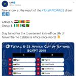 2020 Olympics Football Qualifiers