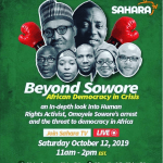 SOWORE: Kemi Olunloyo Set To Appear On A Huge Panel With Nnamdi Kanu Etc