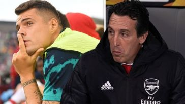 'Granit Xhaka Will Never Play For Arsenal Again' – Emery