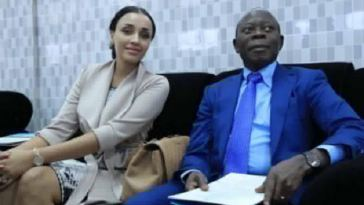 UPDATE: Adams Oshiomole And Estranged Wife Lara