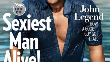John Legend Is 2019 'Sexiest Man Alive'