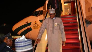 Kogi And Bayelsa Election? President Buhari Returns Home Ahead Of Schedule