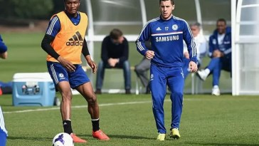 Obi Mikel Says Eden Hazard Is 'Worst Trainer Ever'!