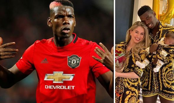 Paul Pogba Celebrates Wife's Birthday With Beautiful Family Pictures