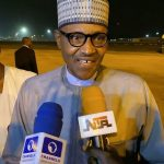 Watch Buhari Finally React To The Alleged Sack Of Osinbajo's Aides [VIDEO]