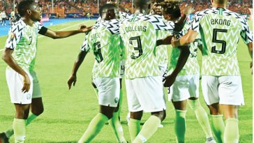 Super Eagles Starting Eleven vs Lesotho: Two Changes Made