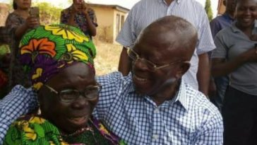 Oshiomhole's Mother Rejects Obaseki's Christmas Gifts
