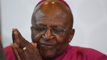 Stubborn Infection; Archbishop Desmond Tutu Hospitalized
