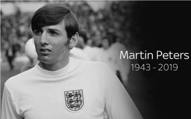 England World Cup Winner, Martin Peters, Dies At 76