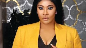 Actress Angela Okorie Hospitalized As Gun Men Riddle Her Car With Bullets On Her Way Back From A Show