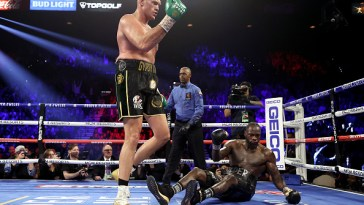 Tyson Fury has beaten Deontay Wilder