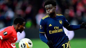 Saka Makes Premier League Team of The Week