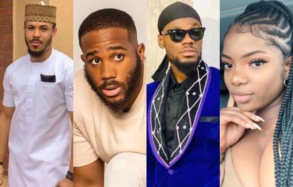 #BBNaija: Prince, Kiddwaya, Ozo And Dorathy Up For Possible Eviction, See How They Voted