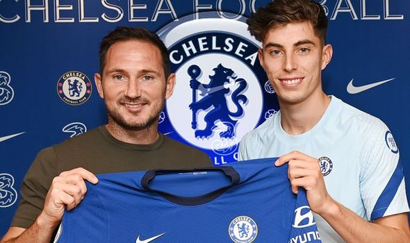 Everton Has Made Kai Havertz Favourite Dream Chelsea Shirt Number Possible
