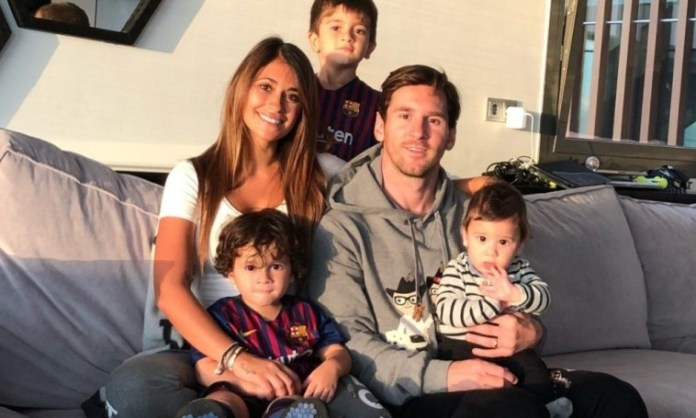 Messi Reveals How His Wife And Children Reacted To Barcelona Transfer
