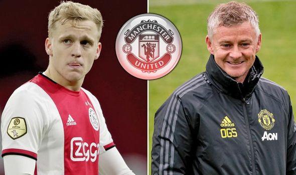 Ole Gunnar Solskjaer Tells Donny Van De Beek His Role As Man Utd's New No.10