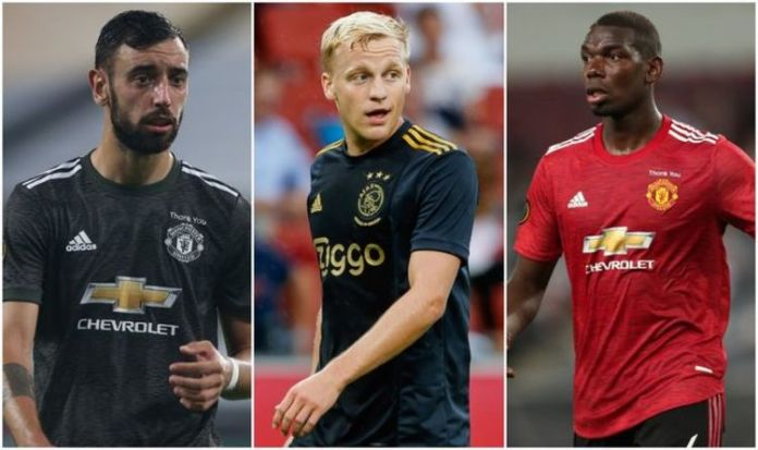 Solskjaer To Force Pogba To Sit In Midfield To Allow Van De Beek Space In Front
