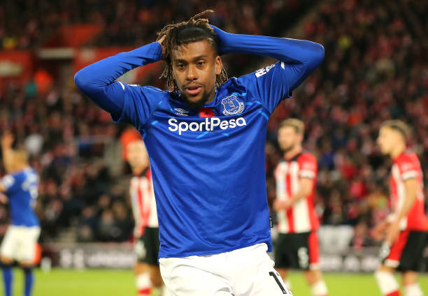 Super Eagles Star Alex Iwobi Told To Leave Everton
