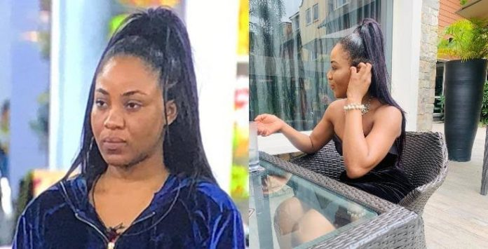 Erica Makes First Public Appearance After Disqualification From #BBNaija