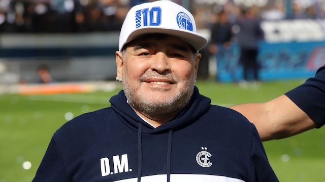 JUST IN: Football Legend Diego Maradona Has Died