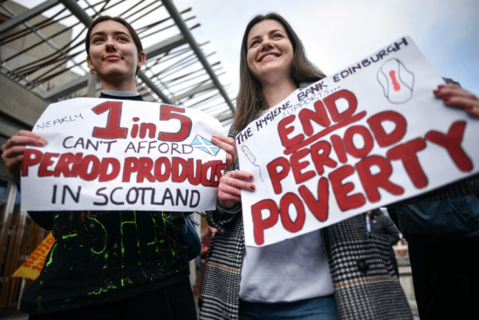 Scotland Becomes First Country In The World To Make Sanitary Pads, Products Free