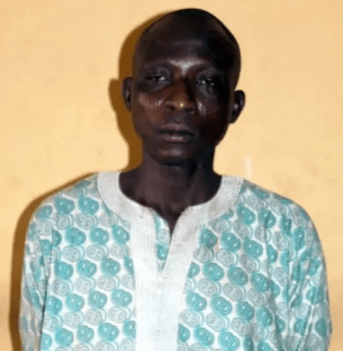 45 Year Old Man Arrested For Allegedly Raping His 13-Year-Old Daughter In Ogun (Photo)