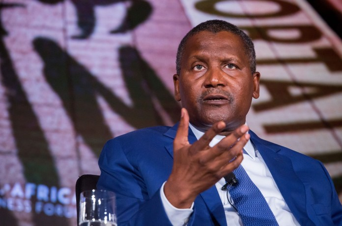 Relationship Scandal? Dangote, Africa's Richest Man, Reportedly Losses $900 Million In 24hours