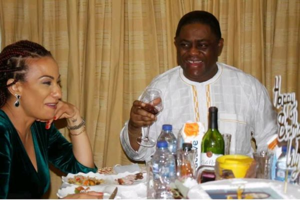 Fani-Kayode Shows Off New Lover (Photos)