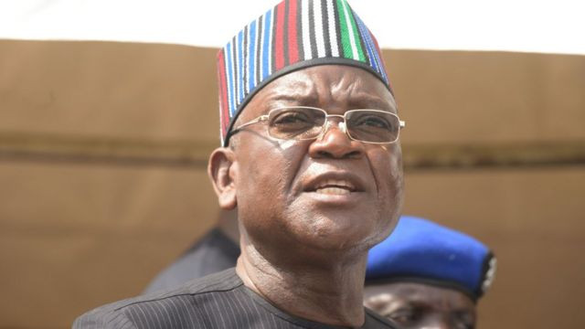 Governor Ortom Of Benue Tests Positive For COVID-19
