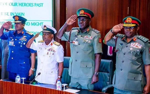 Nigeria's President Buhari Sacks Service Chiefs, Lists Replacements