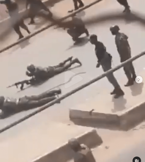 Nigerian Army And Operatives Of IPOB's Eastern Security Network (ESN) Clash In Orlu (Videos)