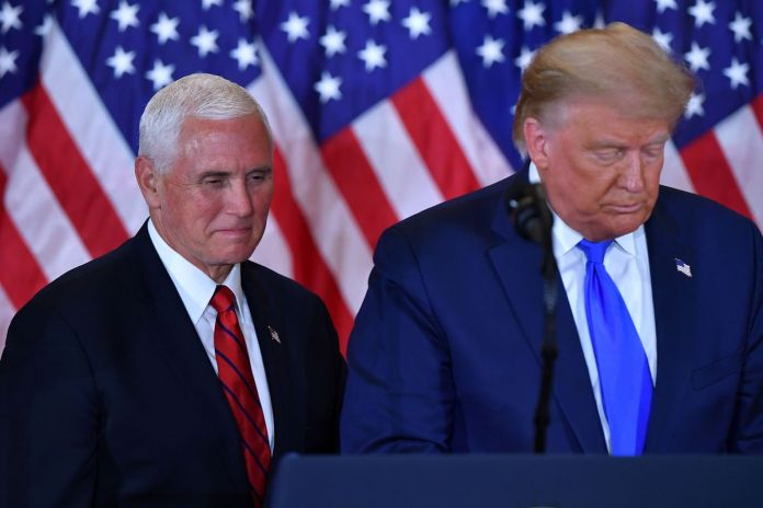 Trump Attacks Vice President Pence As Washington DC Erupts In Chaos And Locks Down