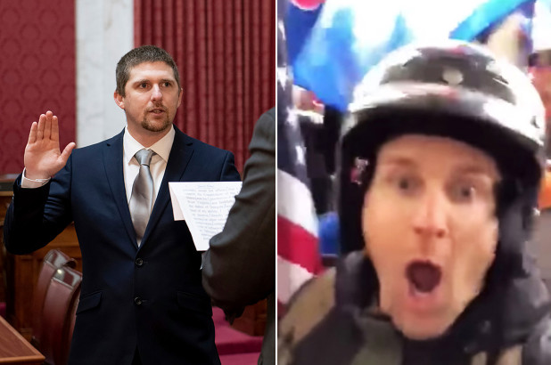 U.S Lawmaker Who Posted Video Of Himself Storming Capitol Resigns