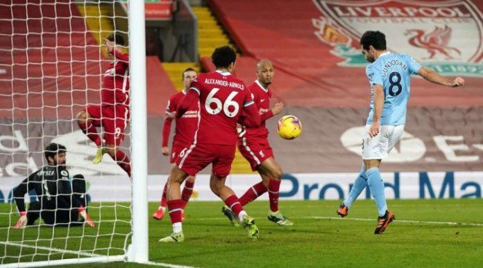 Man City Demolish Liverpool At Anfield