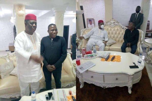FFK And Sunday Igboho Privately Meet In Ibadan (Photos)