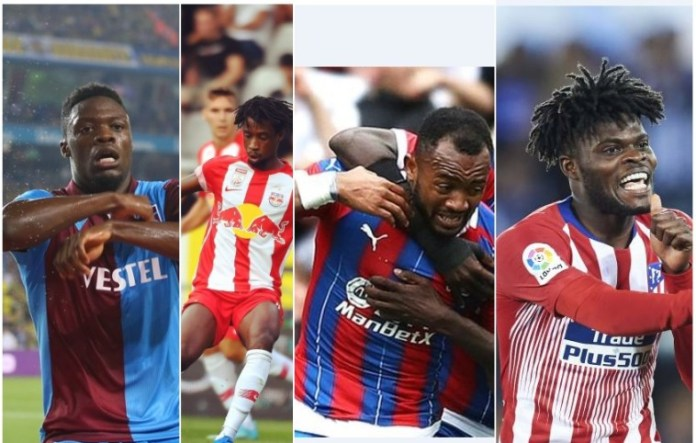 Ghanaian Footballers Abroad Listed In FULL Detail