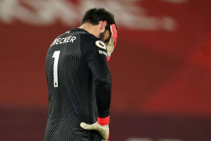 Liverpool Goalkeeper Alisson Becker's Father Drowns And Dies