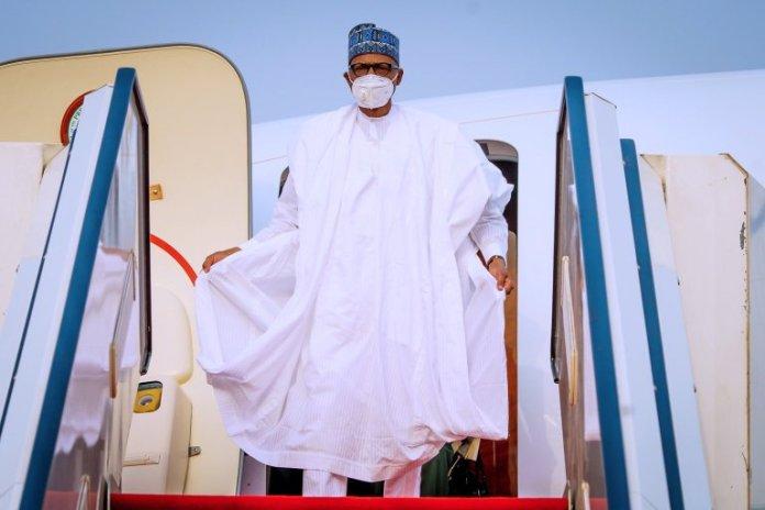 Buhari Returns To Abuja After Visiting Daura Country Home