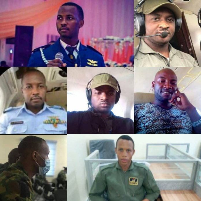 Nigerian Air Force Publishes Names Of Victims Of Military Plane Crash (Photos)