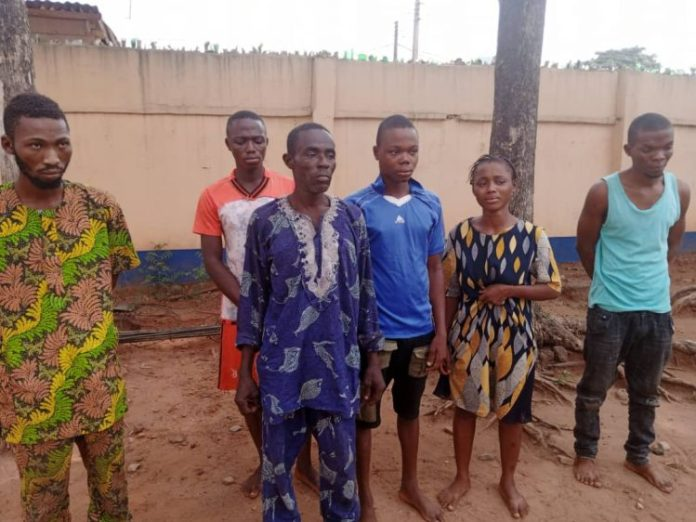 Family Of 7 Arrested For Kidnapping In Ogun