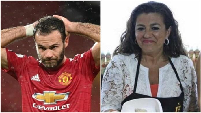 Manchester United Star Juan Mata's Mum Dies