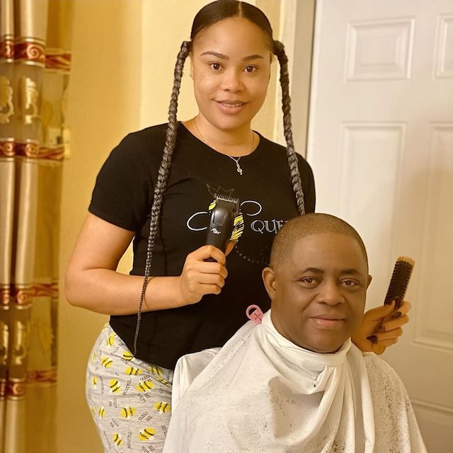Former Beauty Queen Precious Chikwendu Wants Custody Of Her 4 Kids From Estranged Husband FFK, Drags Him To court