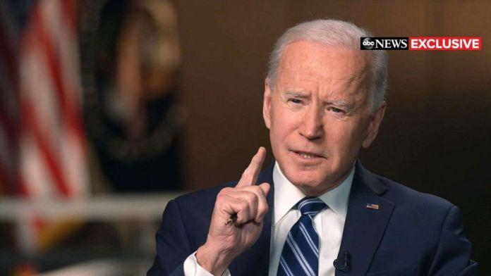 I think Putin is a killer, he will pay: US President Biden