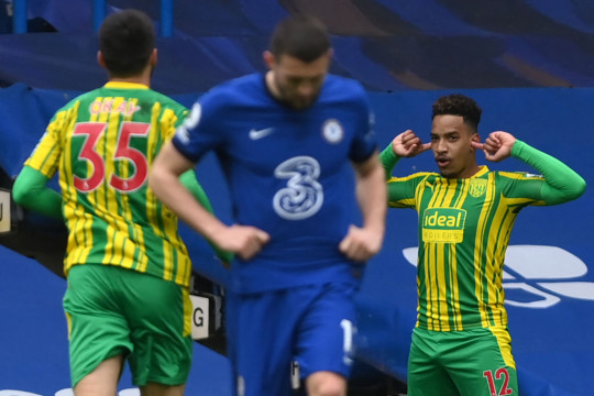 Three Chelsea Players To Be Benched Henceforth After West Brom Defeat