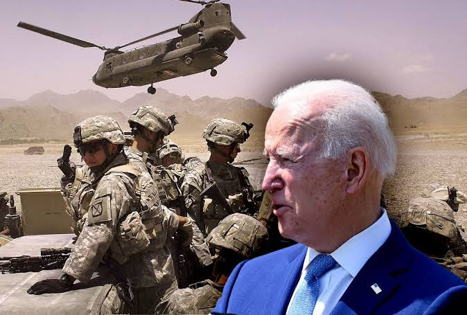 Biden announces troops will leave Afghanistan 20 years after the World Trade Center bombing... America's Longest War over